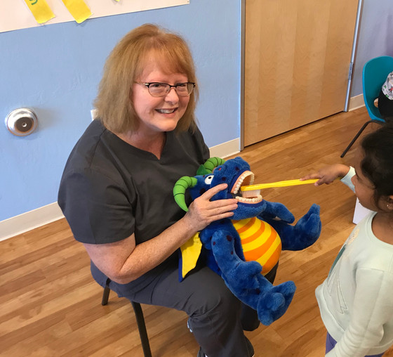 Congratulations to Miss Mary, 25 years of service at Dentistry for Children & Adults Too!