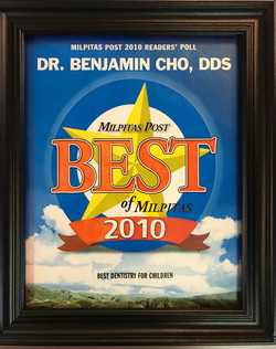 Voted best bay area dentist