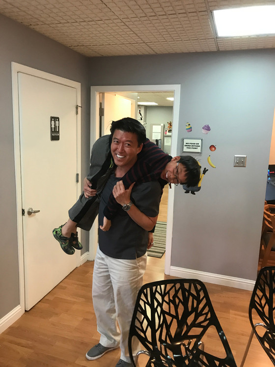 """Dr. Cho is the best children's dentist in San Jose, and I want to be a dentist just like h"