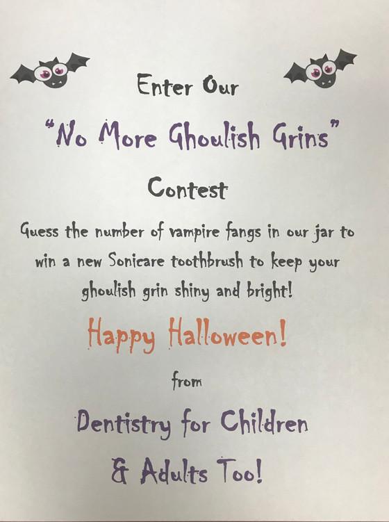 How does this San Josekid'sdental office celebrate Halloween?