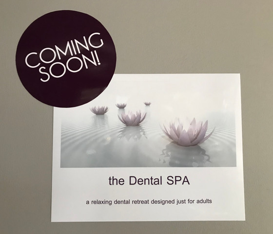 Our Dental Spa Suite is almost ready!