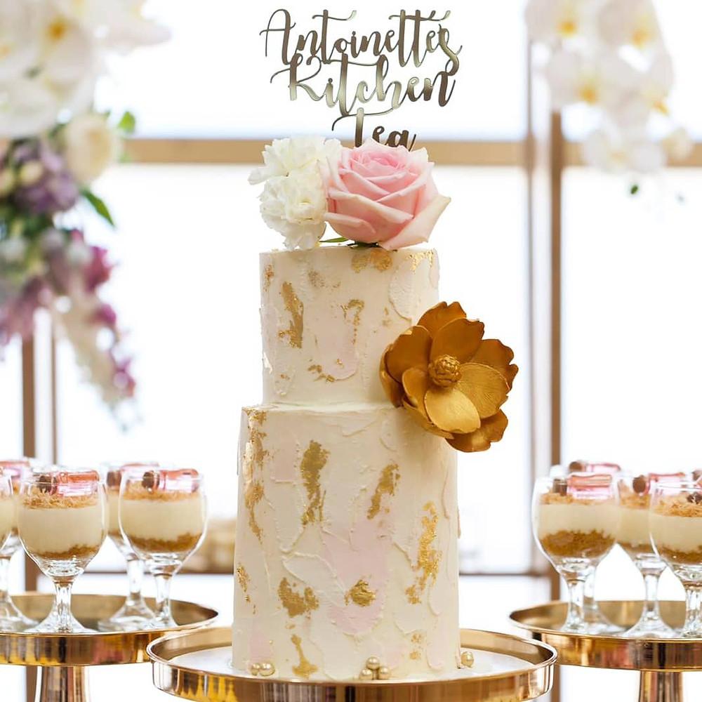 sydney, event, stylist, planner, bride, wedding, engagement, proposal, love, gold, pink, cake, display