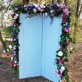 Photoshoot__This is our blue door in the