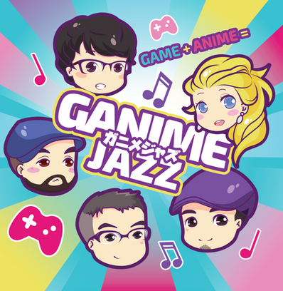 GanimeJazz CD cover.png