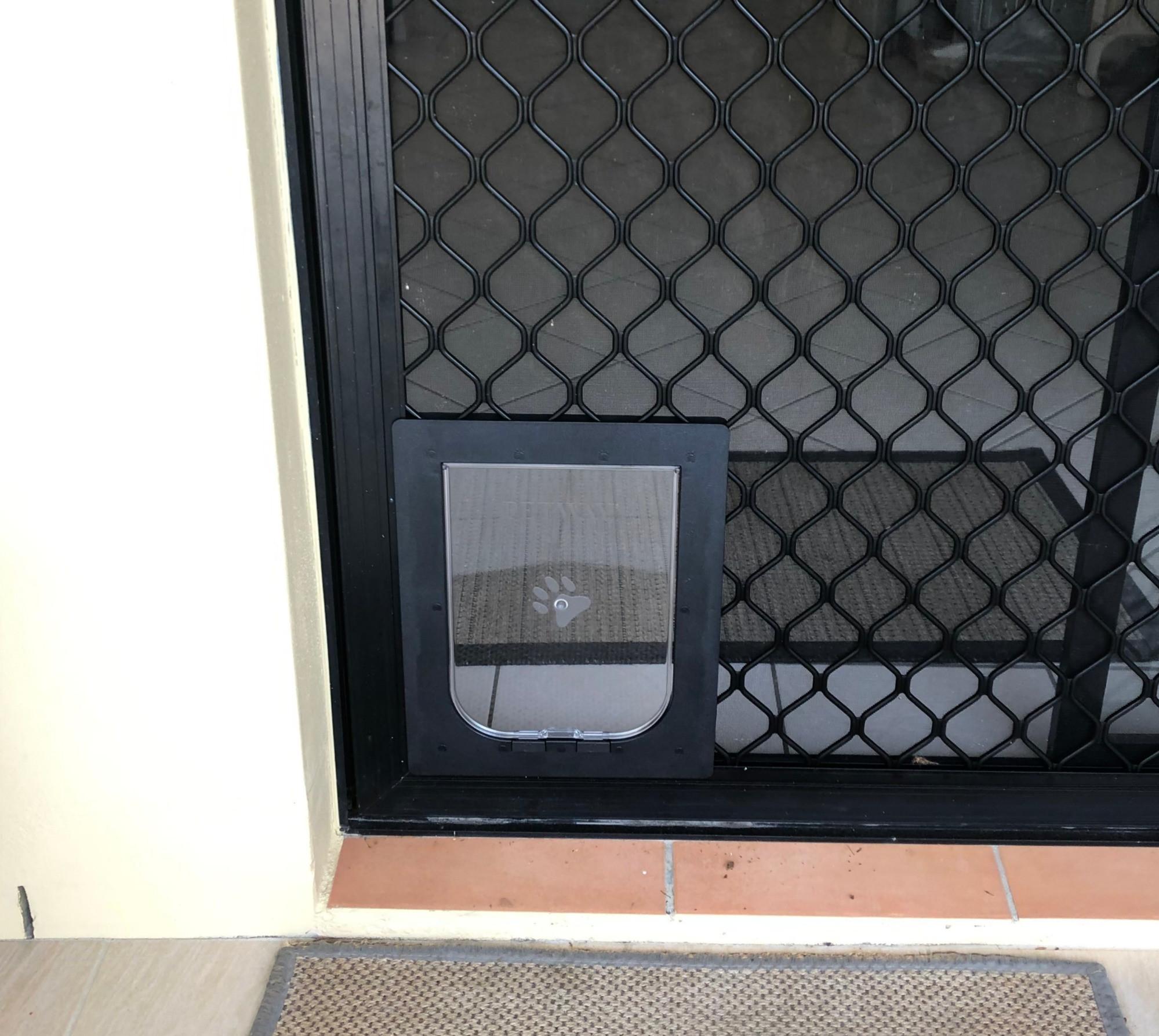 Dog & Cat Door Installation