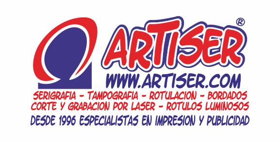 logotipo de ARTISER IMPRESION CREATIVA SL