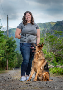 Personal branding photo shoot for dog trainer
