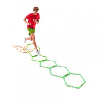 Hi Vis Hexagonal Agility Ring Set