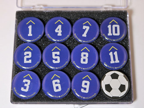 SCOPRO Tactical Magnets - Blue/White