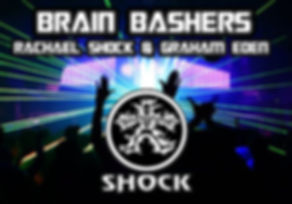 brainbashers shock records rachael shock and graham eden