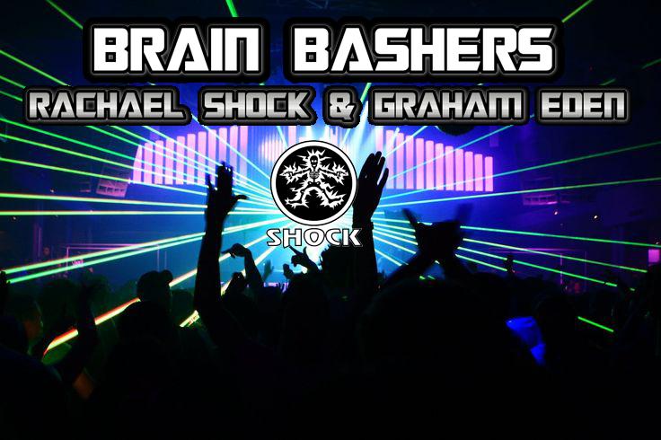 dj booking club shot brain bashers