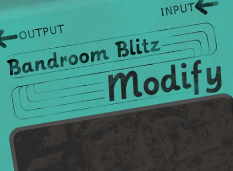 Bandroom Blitz Dev Journal Vol 3: Modify Me Cap'n