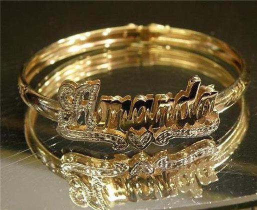 14K Gold Plated Bangle (Kids)