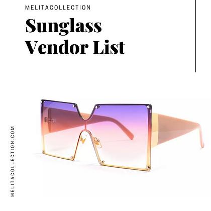 Start Your Own Sunglass Business Vendor List