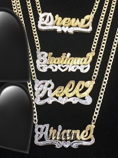 14K Gold Plated Cuban Chain & Bracelet  (Adult)