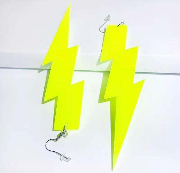 Neon Lighting Earrings