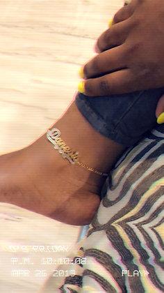14K Gold Plated Anklet