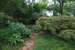 shade garden shrubs and perennials