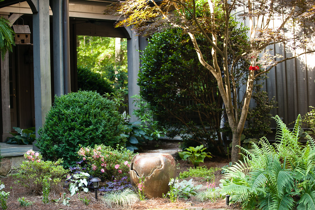 English shade garden