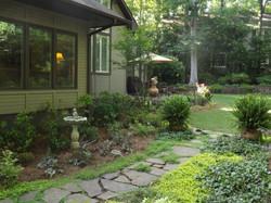 Southern-style garden restored