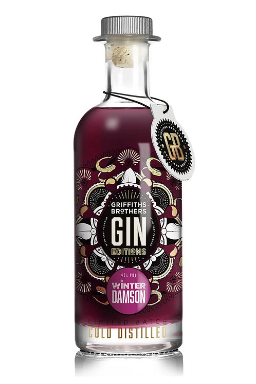 Griffiths Brothers Winter Damson Gin (70cl, 42%)
