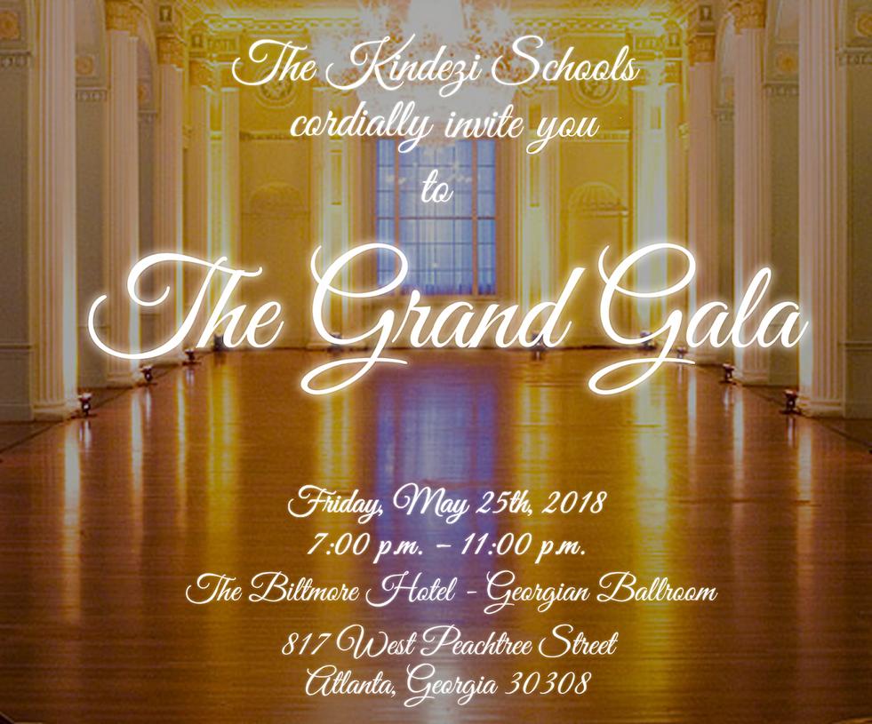 The Biltmore Gala Invitation