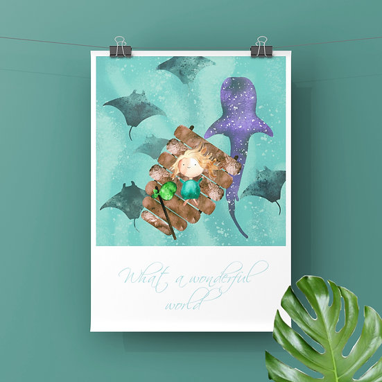 Wonderful Life - Art Print