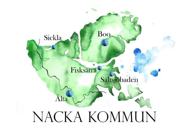 Exempelkarta - Kommun