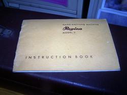 Regina Instuction Manual