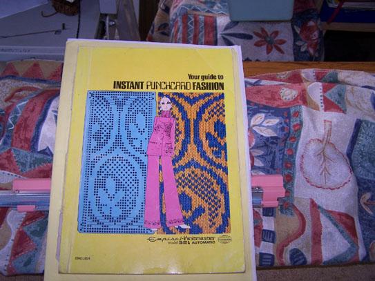 Knitmaster 321 Punchcard