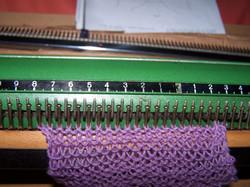 Garter Stitch sample