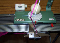 Busch Knitting Machine Carriage