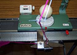 Busch Knitting Machine Carriage