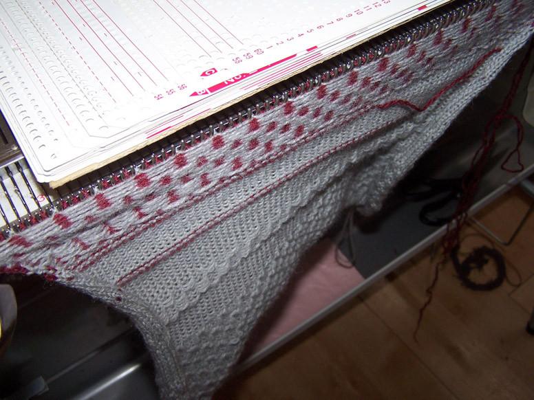 Knitmaster 360 sample