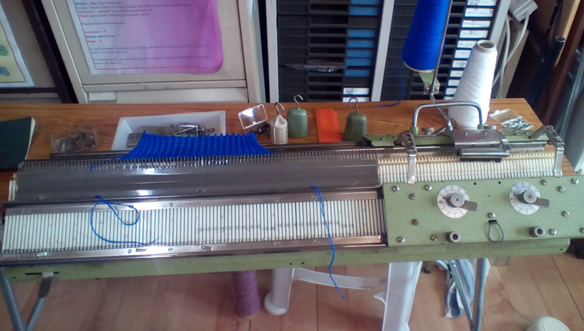 Rapidex Knitting Machine