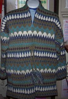 Fairisle Jacket knitted in Shetland