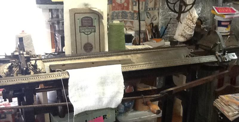 Dubied Hand Knitting Machine