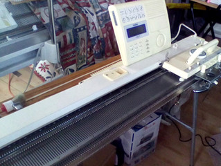 Brother 970 Electronic Knitting Machine