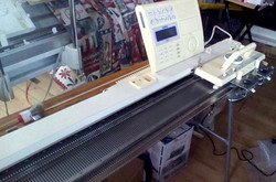 Brother 970 Electronic Knitting Mach
