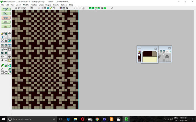 Designknit 8 Stitch Pattern Screen