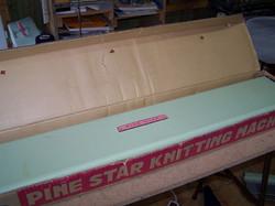 Pine Star Knitting Machine Box