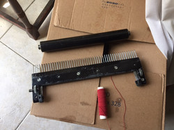 Ping comb and weight