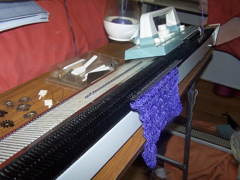 Knittax AM3 initial sample