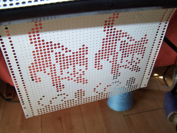 Punchcard for cats