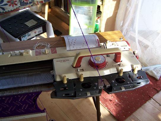 Toyota 950 Punchcard Knitting Machine