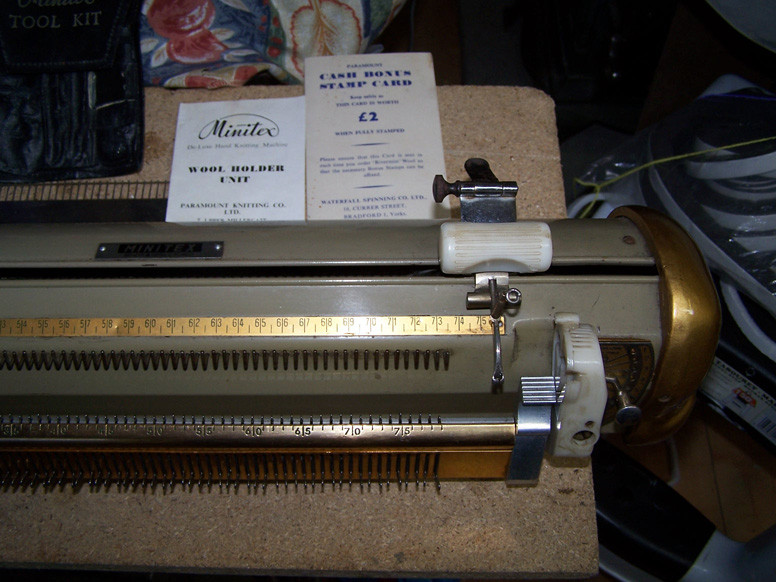 Minitex Vintage Knitting Machine