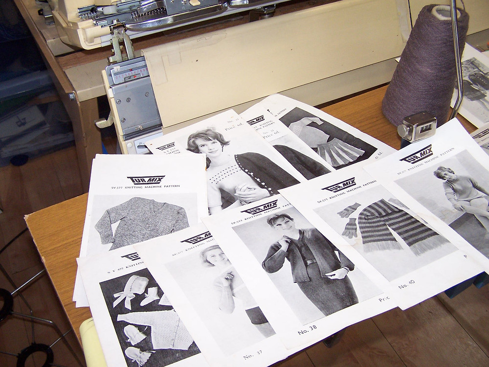 Turmix 577 pattern leaflets