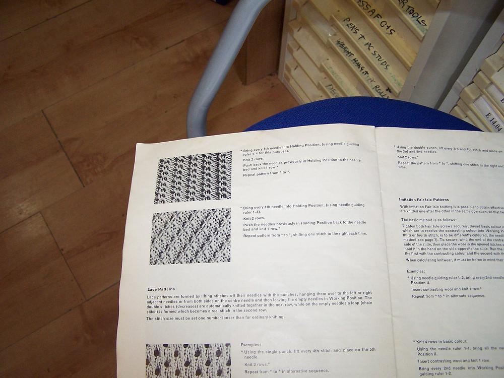 Turmix 577 stitch patterns