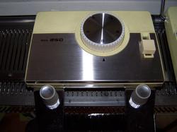 Knitmaster 250 Pattern Selector