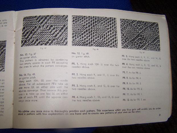 Regina Garter Stitch Patterns